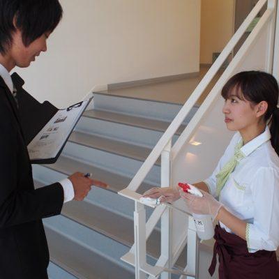 富山赤十字病院(富山市) 病棟清掃